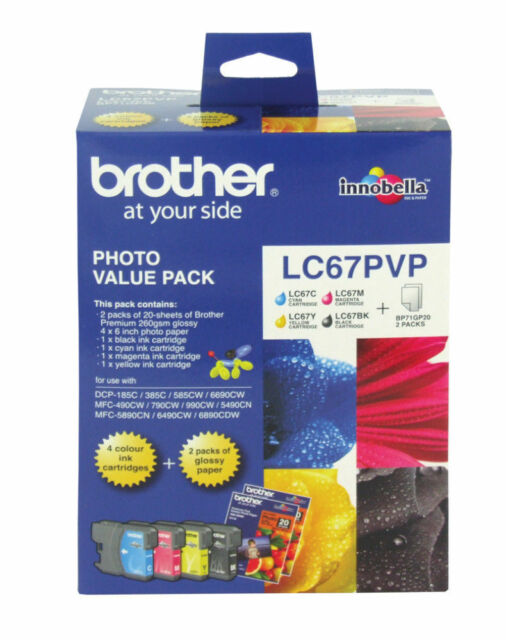 BROTHER LC67PVP -Photo Value Pack