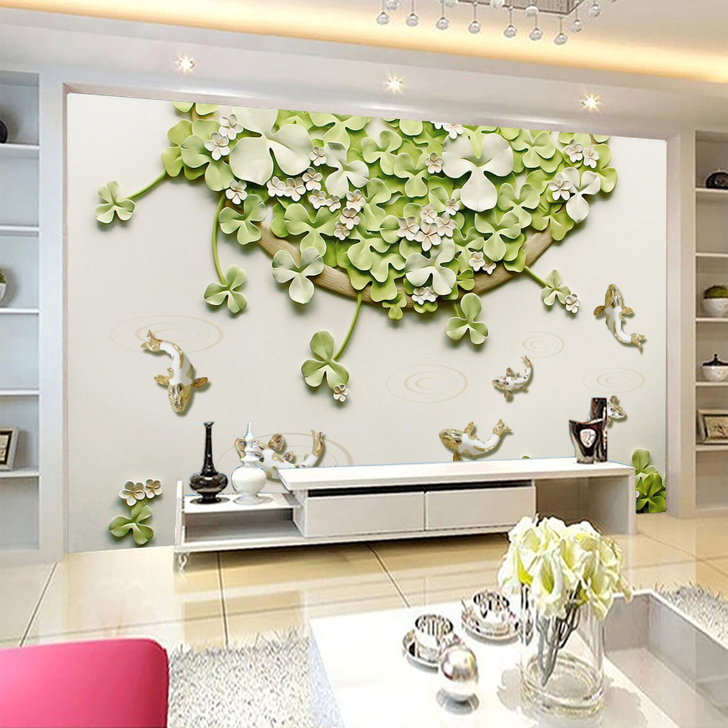 3D Elegant Pattern 41 Wall Paper Wall Print Decal Wall Deco Indoor AJ Wall Paper