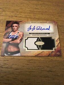 Joanne-Calderwood-UFC-2018-Topps-Knockout-Tier-1-Auto-Dual-Relics-ADR-JC-117-149