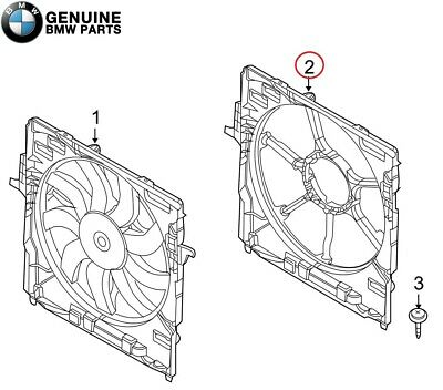 OES Genuine Fan Shroud