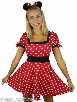 MICKEY MINNIE MOUSE DISNEY FAIRY TALE FANCY DRESS HALLOWEEN COSTUME