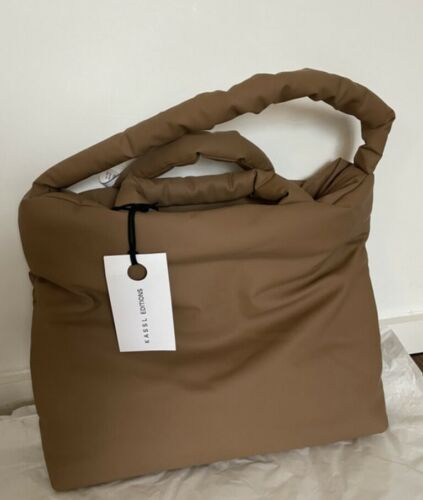 Kassl Editions Authentic large brown padded coated