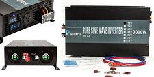 EMC CE approved 12V to 240V 50HZ 3000W Off Grid Pure Sine Wave Inverter