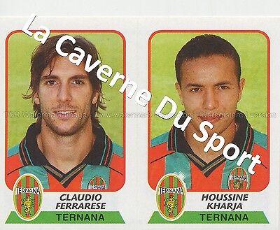 N°583 HOUSSINE KHARJA # MAROCCO TERNANA CALCIO STICKER PANINI CALCIATORI 2004