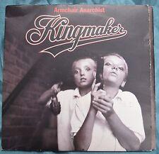 "Kingmaker – Armchair Anarchists 7"" gatefold sleeve – SCORCHG 6 – Mint"