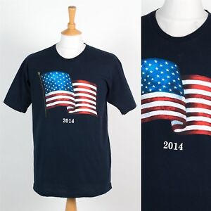 a3b112f7456b2 SUSA 2014 FLAG T-SHIRT TOURIST 4TH OF JULY INDEPENDENCE DAY STARS ...