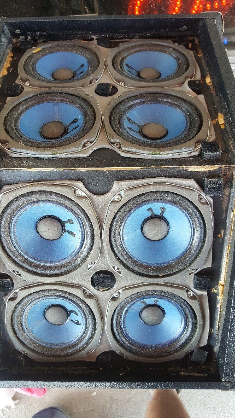 4 Bose 800 Series vintage PA speakers Tested Working