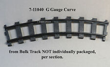 LIONEL G GAUGE CURVE TRAIN TRACK SECTION battery operated  7-11040 BULK TRACK