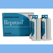 Reprosil Vps Impression Material Heavy Body 12 X 50ml 36 Mixing Tips 626250