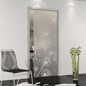 Dettagli su porta scorrevole vetro temperato interno muro su misura per  eclisse, scrigno....