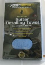 microfiber music nomad guitar detailing towel for acoustic and electric guitars