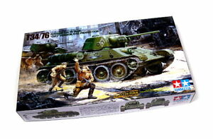Tamiya-Military-Model-1-35-Russian-T34-76-ChT-Scale-Hobby-35149