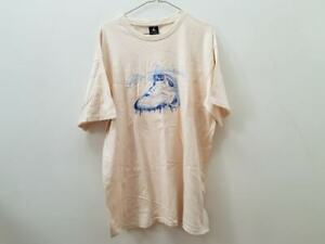 Air-Jordan-T-shirt-Beige-Size-L-Men-039-s