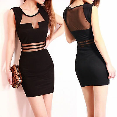 Hot Sexy Women Summer Casual Sleeveless Party Evening Cocktail Short Mini Dress