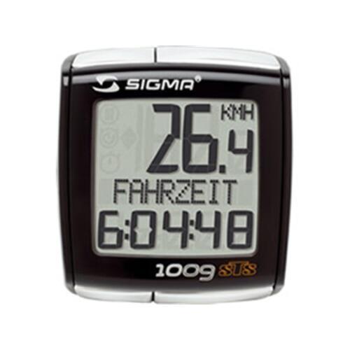 Sigma Sport BC 1009 STS kabellos Fahrradcomputer funk Fahrradtacho drahtlos PC