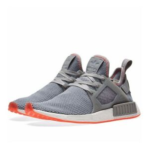 reputable site 6eeea 050fd Image is loading Adidas-Men-039-s-NMD-XR1-Grey-Three-