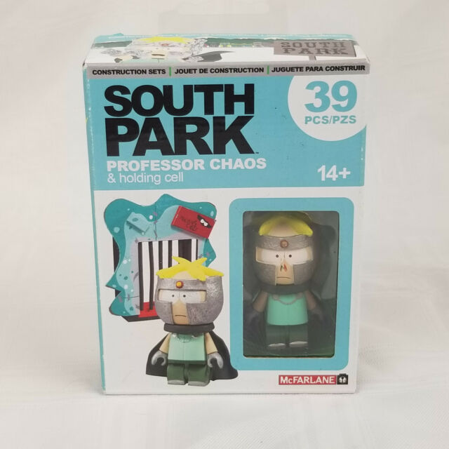McFarlane Toys South Park Professor Chaos w/ Holding Cell Set 39 pcs Butters