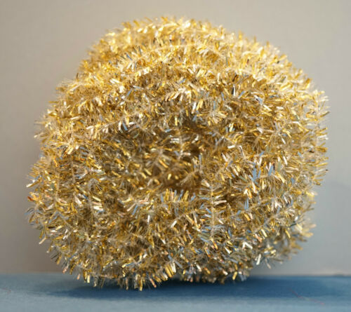 New Age Chenille 2,7 Meter x 6 mm 3 farbig Cascade USA KLONDIKE GOLD