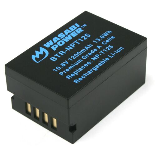 Wasabi Power Battery for Fujifilm NP-T125