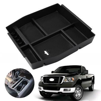 For Ford F150 2015-2018 Accessories Interior Auto car Armrest Storage Box Black