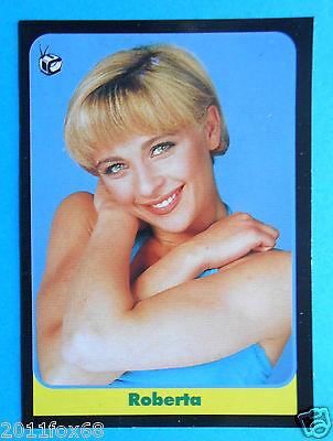 figurines cromos figurine card masters cards 1993 roberta carrano non è la rai f