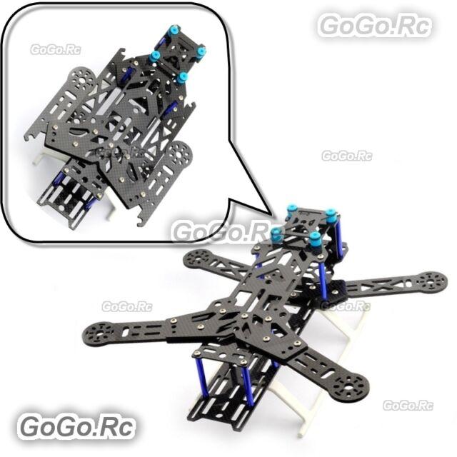 Emax 300mm Folding Pure Carbon Fiber Quadcopter Multirotor Frame Kit - EQA300BU