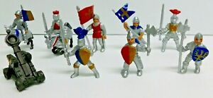 SAFARI-LTD-034-TOOB-DRAGONS-AND-KNIGHTS-034-REPLACEMENT-FIGURES-LOT-OF-9