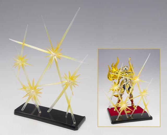 Bandai Saint Seiya Soul Of Oro Mito Paño Ex Effect Piezas Rayo Plasma New