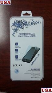 9H-Premium-Tempered-Glass-Screen-Protector-Film-Guard-Cover-For-HTC-One-M9-2015