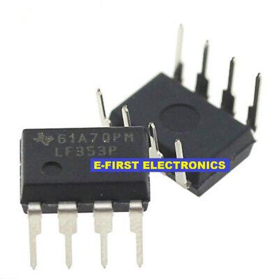 50PCS LF353DR LF353 SOP-8 IC original TI