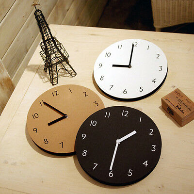 Modern Interior Sandwich Clock_Number Type_Wall Decorative