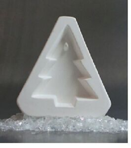 Little Fritters HOLEY PINE CHRISTMAS TREE Pendant Ornament Small Glass Kilns