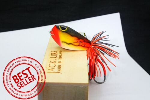 Jumping Frog 4.5 cm.Triangle Fishing Lure 2018 Wood Handmade Topwater Outdoor
