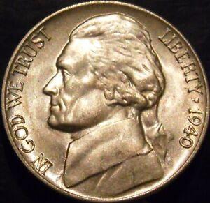 1940-D-Jefferson-Nickel-Choice-Gem-BU-Uncirculated