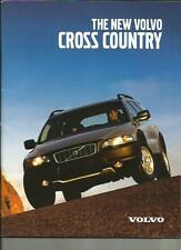 VOLVO CROSS COUNTRY SALES BROCHURE MAY 2000