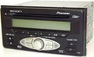 scion toyota cd mp3 satellite capable radio t1807 pioneer stereo rh ebay com 2015 scion xb pioneer radio manual 2008 scion xd pioneer radio manual