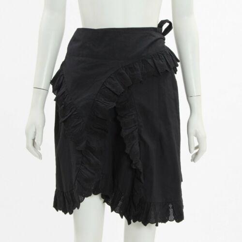 Isabel Marant Etoile /'Milou/' Ruffled Cotton Mini Skirt Size FR 40AU 12