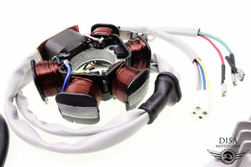 Piaggio Sfera NSL Zündung SET Lichtmaschine Zündspule Stecker Kerze Regler NEU *
