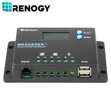 Renogy Wanderer 10 Amp Solar Charge Controller Common Negative Battery Regulator