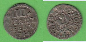 4 Pfennig 1744 Hildesheim Stadt BB 513a ca. 0,79 g stampsdealer