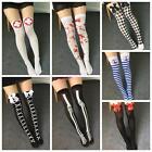 Fashion Women Cosplay Socks Funny Socks Knee Long Socks Beach Cosplay Stockings