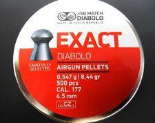 JSB .177 CAL. EXACT PELLETS 8.44 GR, 500 PCS