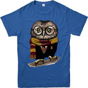 Harry-Potter-t-shirt-hibou-et-Hedwig-Cadeau-D-039-anniversaire-Unisexe-Adultes-amp-Enfants-Tee-Top