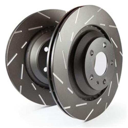 3.0 v6 CRD 3.6 v6 EBC Black Dash disc disco de freno hectáreas también para Lancia tema LX