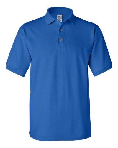 Gildan Dryblend Homme Polo Sport shirt Jersey T-shirt 8800 NEUF sans Original Tags Taille S-5XL