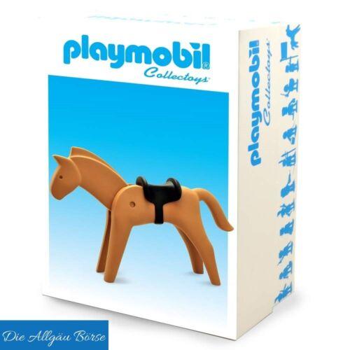 Playmobil Collectoys Pferd 25cm Plastoys Resine Knights Western NEU OVP