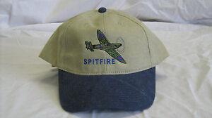 243a229967b Details about Supermarine Spitfire British Warbird Airplane Embroidered Hat