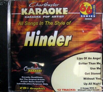 Chartbuster Karaoke CD+G Pop Artist Series - CB40440 (Hinder) | eBay