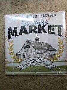Dollar Tree Farmers Market Calendar 2021 | eBay