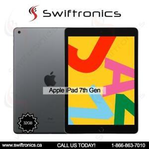 Brand New Apple iPad 7th Generation Wifi. 32GB Space Grey Mississauga / Peel Region Toronto (GTA) Preview